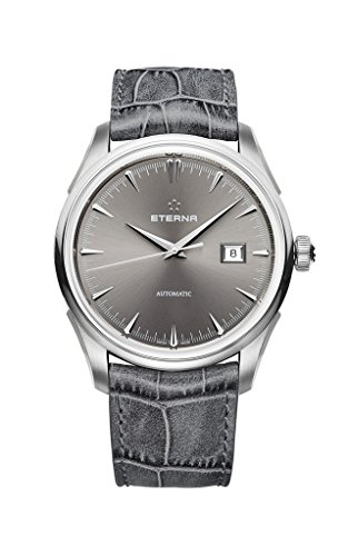 ETERNA 1948 Collection Legacy Automatik Armbanduhr grau Swiss Made 2951.41.56.1343 UVP 1890EUR