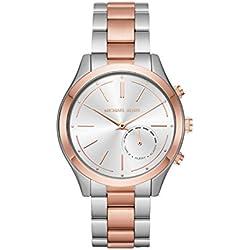 Michael Kors Reloj Analogico para Mujer de Cuarzo con Correa en Acero Inoxidable MKT4018