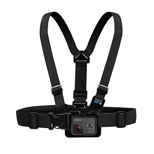 GoPro Chest Mount Harness - Arnés para el pecho para cámaras GoPro, color negro