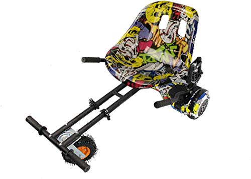 Zerimar Hoverkart |Adatto per Hoverboard | Kart per Hoverboard | Hoverboard Kart | 6,5/8 / 10'' |...