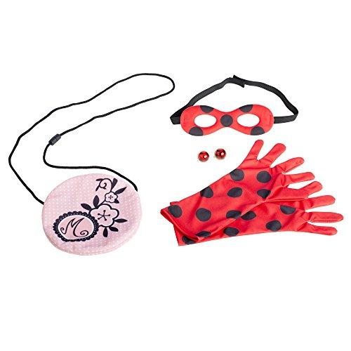 Prodigiosa: Las aventuras de Ladybug- Disney Set Conviértete, Miscelanea (Bandai 39780)