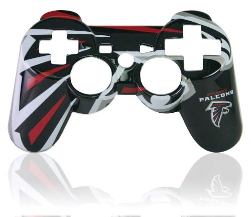Ps3 Official Nfl Atlanta Falcons Controller Faceplate