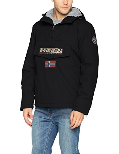 NAPAPIJRI Rainforest Winter Jacke Giacca, Nero (Black 041), X-Large Uomo