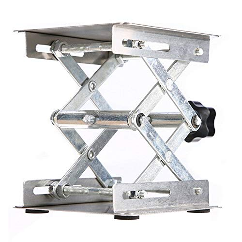 ELECTROPRIME Laboratory Lifting Platform Lab Lifter Stainless Steel Router Lift Stand Kits