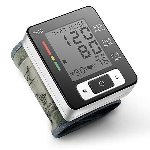 MLYWD Misuratore Pressione Sanguigna da Braccio Digitale, Misurazione Accurata Testata Clinicamente,...