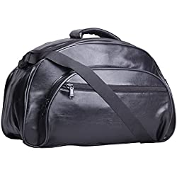 F Gear Monarch Polyester 33 Ltrs Black Travel Duffle (2414)