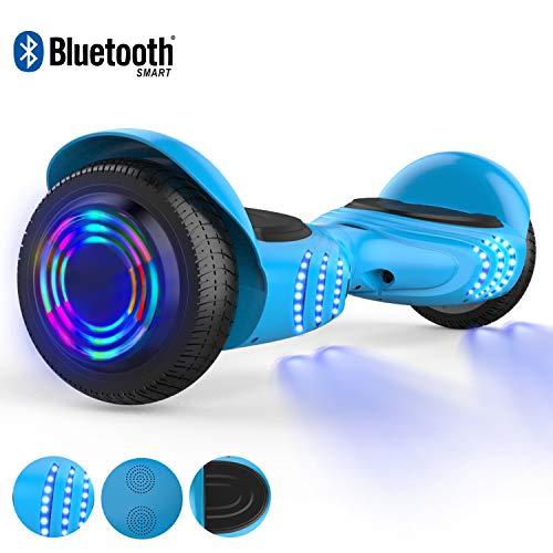 RCB Hoverboard Scooter elettrico auto bilanciamento 6.5'' intelligente per adulti Bambini-UL2272...