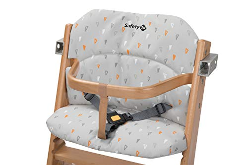 Safety 1st Cuscino per Seggiolone pappa in legno Timba, Warm Grey