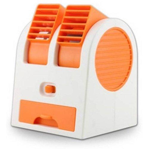 Absales Mini Fragrance Cooling Fan (White:Blue)