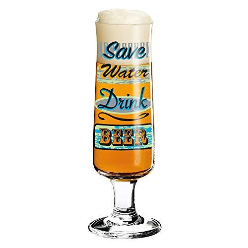 Ritzenhoff 3220015 Disegno Bicchiere di Birra con sottobicchieri, Marie Pepe, Autunno 2015