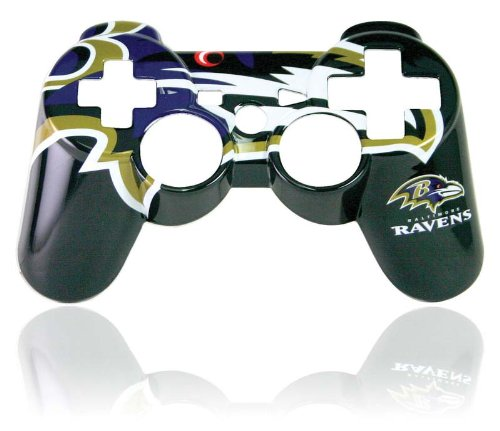 Ps3 Official Nfl Baltimore Ravens Controller Faceplate