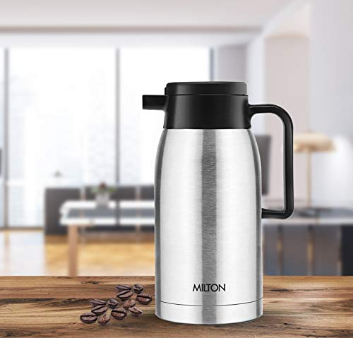 Milton Thermosteel Omega 1000 ML. Vacuum Insulated Flask, Silver