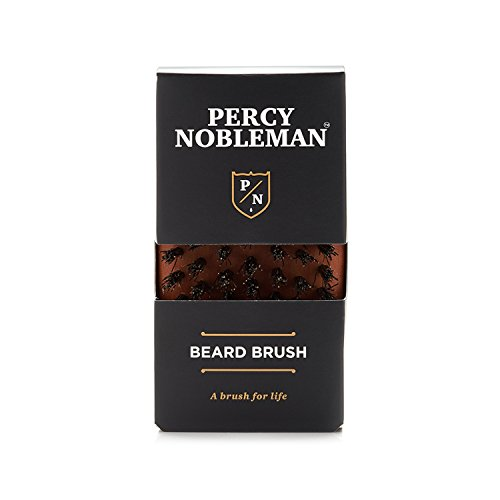 Brosse à barbe par Percy Nobleman - en bois de poirier autrichien huilé et 100 % poils de sanglier