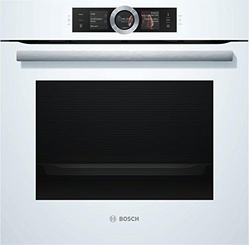 Bosch Serie 8 HSG636BW1 forno Forno elettrico 71 L 3650 W Bianco A+