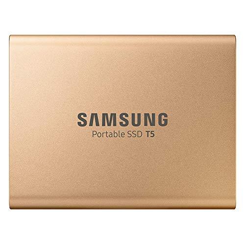 Samsung MU-PA1T0G/EU) Portable SSD T5 1 TB USB 3.1 Externe SSD Rose Gold