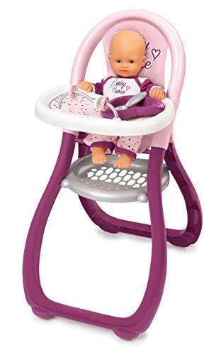 Smoby Baby Nurse 220342 - Seggiolone per Bambolotto, Colore: Rosa