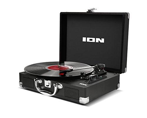 ION Audio Vinyl Motion Air - Giradischi Portatile a Tre Velocità (33 1/3, 45 e 78 Giri), con...