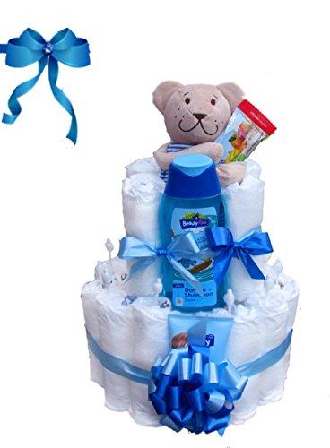 Windeltorte Junge   Das perfekte Geschenk zur Geburt & Taufe
