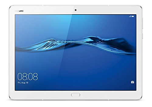 Huawei Mediapad M3 Lite 10 - Tablet de 10.1 pulgadas IPS FullHD (WiFi, Procesador octa-core Qualcomm Snapdragon 435, 3 GB de RAM, 32 GB de memoria interna, Android 7 Nougat), color blanco