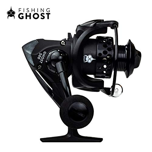 FISHINGGHOST REEL500 Mulinello Angel 180gr Ideale per canne Ultralight, Mulinello per la Pesca al Microlight