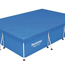 Bestway 58106 Best Way Copripiscina Steel PRO Frame Rett Cm 300X201X66 139