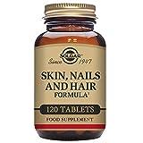 Solgar Pelo, Piel y Uñas, 120 Comprimidos - Mantenimiento de pelo, piel y uñas con brillo....