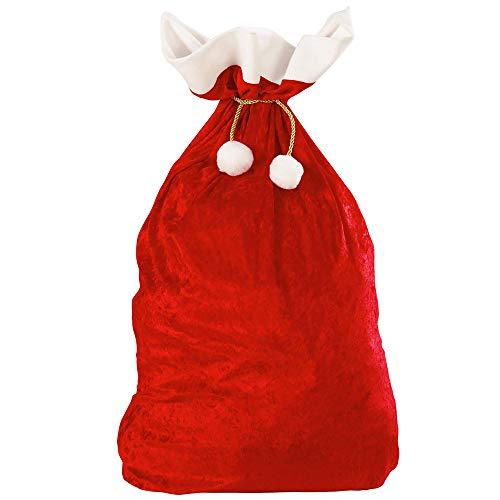 WIDMANN 1561X Weihnachtsmann Sack aus Samt