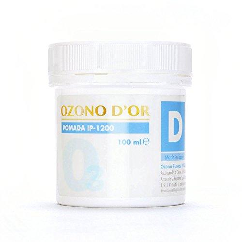 OZONO DOR. L'ozono disinfettante naturale Unguento IP-1200 (100 ml). Unguento per aprire ferite, ulcere, dermatiti, psoriasi, ustioni, herpes, verruche e funghi (fungicida)