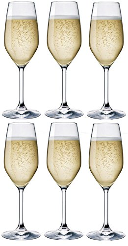 Rocco Bormioli Bicchieri Divino FLUT Cl 24 - confezione da 6 pz ...
