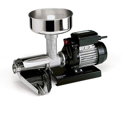 Reber Spremitore Elettrico per Passata di Pomodoro e Marmellate, 400 W, 70-140 kg/h