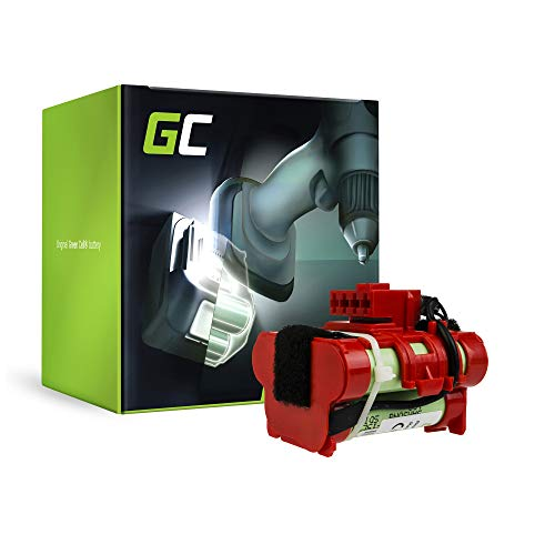 Green Cell® Batería de Herramienta Eléctrica para Flymo 1200 R Robot Lawn Mower (Samsung Li-Ion celdas 1.5Ah 18V)