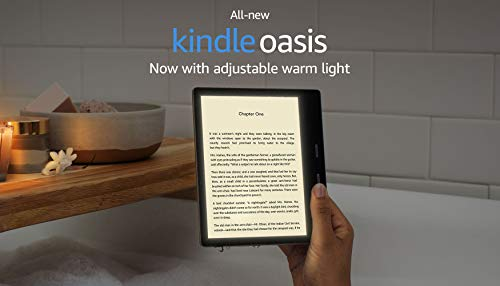 "All-New Kindle Oasis (10th Gen) - Now with adjustable warm light, 7"" Display, Waterproof, 32 GB, WiFi + Free 4G (Graphite) 19"
