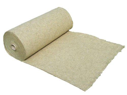 Tappeto per roditori realizzato al 100% in canapa, venduto al metro, spessore 0,50 m x 10,00 m x 0,5...