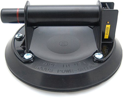 2er Set Wood\'s Powr-Grip N4000 Saugheber Glasheber Mit Handpumpe, 203mm Saugfläche, Sicherungsring Und Lexan Griff Power Grip - MADE IN USA