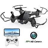 EACHINE E61HW Mini Drone con Telecamera WiFi FPV droni per Principianti Funzione di Sospensione...