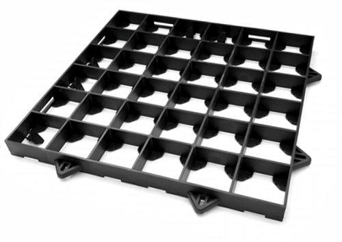 he ProBase 8ft x 6ft GARDEN SHED BASE SYSTEM claims to be the only grid system designed to support timber structures without gravel or sand infill. Instead, the underside of this shed base features load spreading feet to prevent settlement. The package includes 20 grids that easy to assemble.