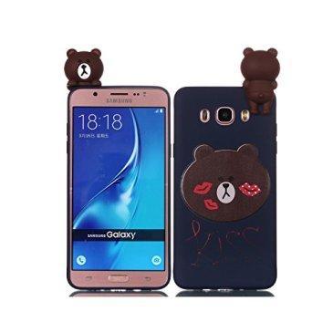 de-Meet Coque Samsung Galaxy J5 2016/J510, slim Protection pour Samsung Galaxy J5 2016/J510 Silicone Souple Coque {Conception de dessin animé super mignon}