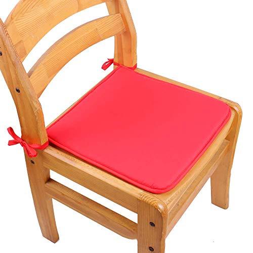 DJ Cuscini per sedie Cuscini per sedie da Pranzo Quadrati, Cuscino per sedute Antiscivolo in Cotone...