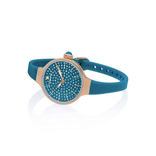 Orologio Donna Chérie Diamond 160 Rose Gold Blu Hoops