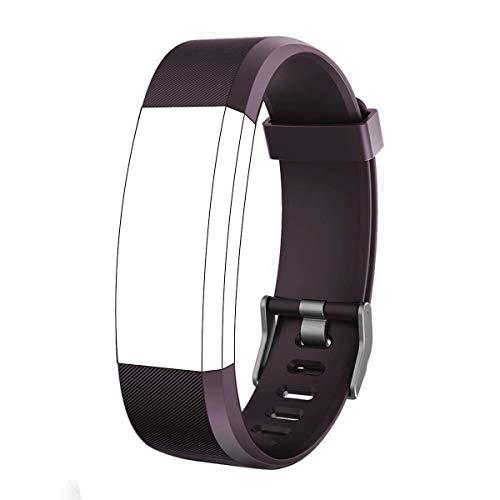 endubro Cinturino per Fitness Tracker ID115 HR Plus & Molti Altri Modelli Realizzato in TPU Skin-Friendly con Chiusura antiallergica