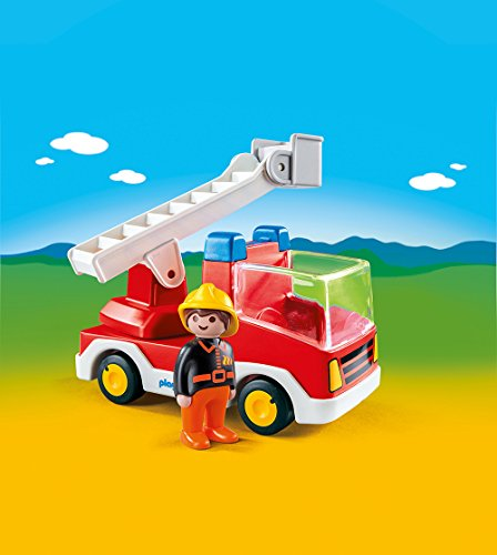 PLAYMOBIL 6967 – Feuerwehrleiterfahrzeug - 2