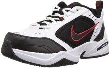 Nike-Air-Monarch-IV-Zapatillas-de-Gimnasia-para-Hombre-Blanco-WhiteBlack-101-385-EU