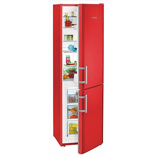 Liebherr CUfr 3311, Frigo-congelatore da 294 litri con SmartFrost, Rosso