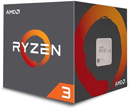 AMD YD1200BBAEBOX Processore CPU, 3,1 GHz (3,4 GHz Turbo), Argento