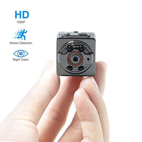 TANGMI Mini Spy Camera 1080p Full HD mini DV della macchina fotografica dell'automobile DVR di movimento senza fili di alluminio Video Camcorder rilevamento del movimento