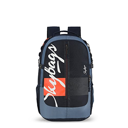 Skybags Komet 51 Ltrs Indigo Blue Laptop Backpack (SBKOP03IBL)