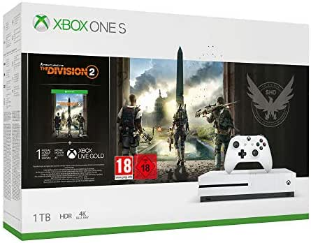 Microsoft Xbox One S 1TB - The Division 2 Bundle