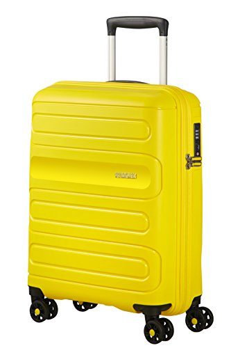 American Tourister Sunside Spinner 55/20 Bagaglio a mano, 55 cm, 35 liters, Giallo (Sunshine Yellow)