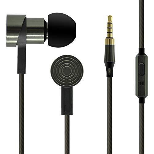 UBSOUND Magister HD Cuffie Auricolari In-Ear in Alluminio ad Alta fedeltà, Microfono, Jack 3,5mm,...