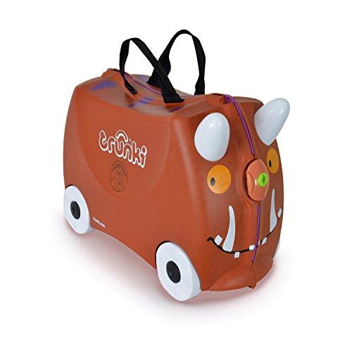Trunki Valigia Cavalcabile Per Bambini: Il Gruffalo (Marrone)